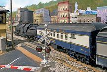 Modelbahn Scenery, fertig, Beispiele, Model Railroad ready Scenery, Examples / Kruip Ruimte tarafından
