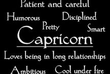 Capricorn :) / December / by Taylor Mayes