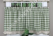 Cafe Tier Curtains  / by Swags Galore