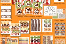 Thanksgiving Printables & Label Designs / Decorate and personalize your Thanksgiving gathering with adhesive labels.  View the best free Thanksgiving printables and label designs here.  / by OnlineLabels.com