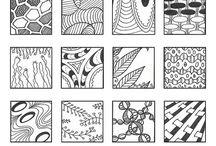 Zentangles / Zen frame of mind / by Lindsey Nichole