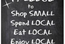 Shop local / by Nappy Shoppe