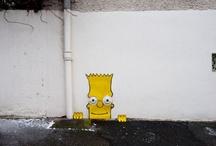 "~STREET ART~ / ""Graffiti is an impulse to get recognized"" - Mint&Serf  / by Nancy Phatsaphaphone"