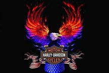 I luv Harleys / by Debbie Lyon