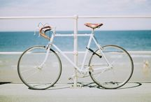 """""""I Want to Ride My Bicycle, I Want to Ride My Bike..."""" / """"When man invented the bicycle he reached the peak of his attainments."""" ~ Elizabeth West  / by Pearls With Plaid"""