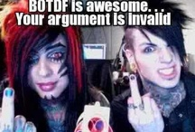 Awesomeness! BVB&BOTDF / This is the board I am most proud of. / by Dani Else