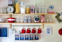 kitchen shelf / by Colleen Wagner