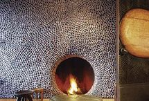 Fireplaces / A collection of interior and exterior fireplace ideas. / by Allison Arnett