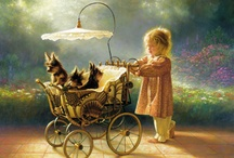 Artwork ... Greg Olsen / A wonderful artist who is able to capture the beauty of life / by Jeanne Newby