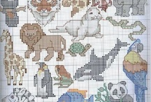 Cross stitch-animals / by Hülya Sönmez
