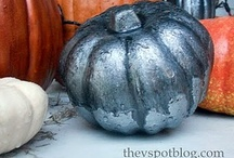 Halloween and Fall / Fall and Halloween decor for your home.  Plus recipes that are themed for this time of year. / by Angie Countrychiccottage