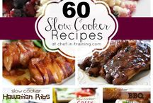 Slow cooker recipes / by Dana Gibson
