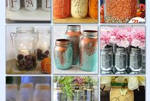 Mason jars / by Jen At Dapperhouse