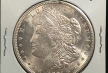 Morgan Dollars / Inventory and prices subject to change. Call (920) 432-5950 for current stock. / by Allouez Rare Coin Gallery, Inc.