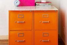 Office Inspiration - Decor ideas, Storage, DIY, etc. / by ❀ Morgan Cole