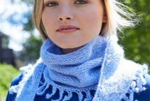 shawls to knit & crochet / by Judy Grier
