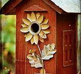 bird houses / by Sharon Valentine