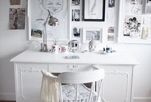 Study/Studio/Desk Inspiration / Desk or study or studio inspiration for the creative / by CityGirlSearching