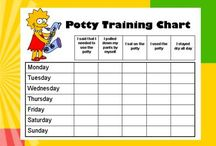 Potty Training Charts / by Reward Charts