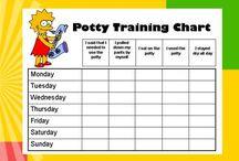 Potty Training Charts / by Reward Charts