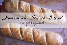 Bread Recipes / by Michelle Huegel