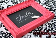 Chalkboards / by Craftbaby