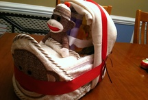 Baby Shower Sock Monkey / by Donna Marie