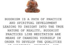 buddhism & meditation / by Caleb Courter