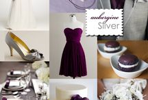 Modern Plum & White Wedding / by Julie Middle Aisle
