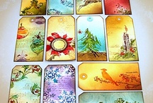 Cards scrapbook tags / by Marleen Dirkzwager