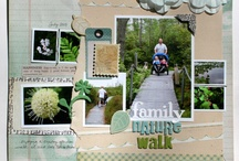 Scrapbook Layout Inspiration / by Jenny Powers