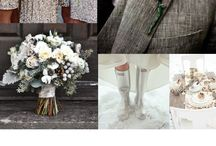 Winter Weddings / Inspiration For Cold Weather Weddings  / by Bows-N-Ties .com