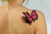 Tattoo ideas / Butterflies / by Abby Mauldin