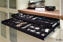 Jewelry Organizing Tips / Jewelry, organized jewelry, jewelry storage, solutions to keep your jewelry organized. / by Molly Hayden Gold