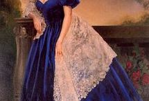 """If I had lived: Victorian/Edwardian Era / The Victorian Era (1837-1901)  During the Victorian era, the precise cut, material and color of a garment revealed the social class of the wearer.  The Edwardian Era (1901-1919) At the advent of the Edwardian era, the shape of women's fashions transitioned from the popular """"hourglass"""" figure to dresses designed with an """"S"""" curve.  Of course if I had lived in these eras, I would wish to have been ridicously rich so that I could have had all of the wonderful things I have pinned. / by Lizz Morgan"""