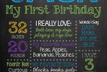 First Birthday / by Burly Bunny