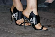 Shoes - Manolo Blahnik / by Melissa Gilbert