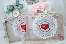 CARDS - Doilies & Rosettes / by Angie Brown :)