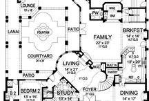 Floor plans / by Tracy Ballard
