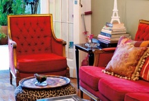 Living Rooms - color / by Genie Norris of ColorGenie