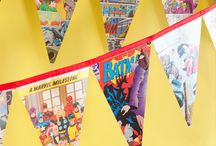 superhero party / by Holly Mathis Interiors