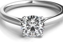 Signature Solitaire Engagement Rings / Incredibly well priced solitaire engagement rings / by Since1910