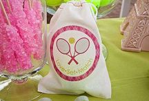 Bat mitzva tennis candy / by Hannah Boden
