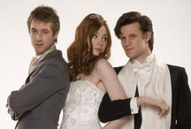 """I ♥ ♥ Doctor Who! / The  9th Doctor - """"Rose, before I go, I just want to tell you, you were fantastic. Absolutely fantastic. And you know what? So was I.""""   The 10th Doctor - """"People assume that time is a strict progression of cause to effect, but *actually* from a non-linear, non-subjective viewpoint - it's more like a big ball of wibbly wobbly... time-y wimey... stuff.""""     The 11th Doctor - """"Bow ties are cool.""""     Mad man with a box    """"Allons-y!""""         / by Robyn Dubbert"""