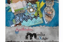 Mixed Media Cards by: Judi Kauffman March 2013 / by Scrapbooking.com Magazine