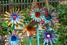 Outdoor craft ideas / Things to decorate the outdoors / by Debbie Lachenmeier Cecak