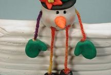christmas: clay ornaments / by Morgane Lescure