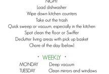 Cleaning ideas / by Shana 'n Wayne Pierce