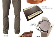 My mans style / by Cheryl Landon
