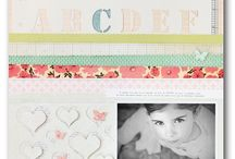 Scrapbook layouts / by Carolyn Roth Peeler
